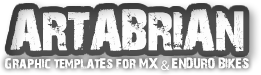 Artabrian – Motocross MX Graphic Templates