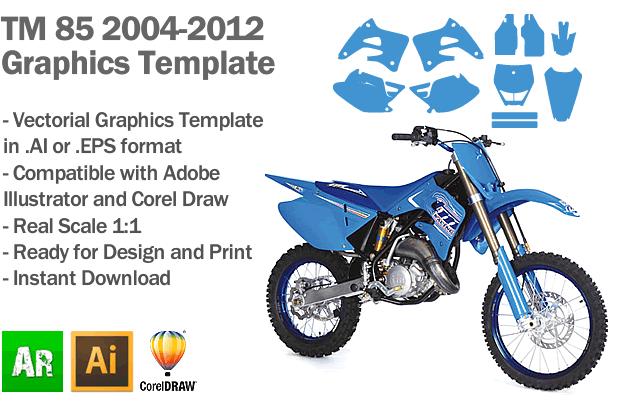 tm 85 mx motocross 2004 2005 2006 2007 2008 2009 2010 2011 2012