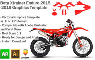 Beta Xtrainer Enduro All Models 2015 2016 2017 2018 2019 Graphics Template